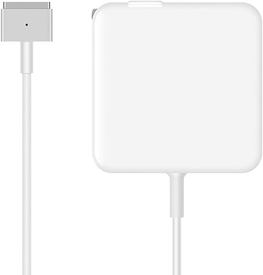 Great Replacement 45W T Power Adapter Charger for Mac Book Air 11-inch and 13-inch (45T)