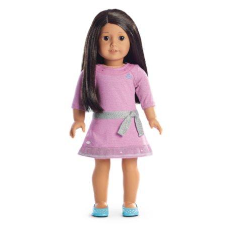 American Girl - Truly MeTM Doll: Medium Skin, Textured Dark