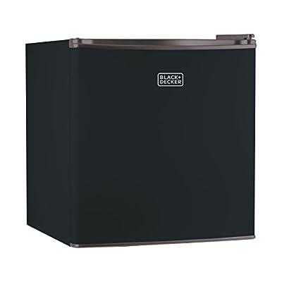 BLACK+DECKER 1.7 Cubic Foot Refrigerator and Freezer
