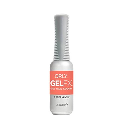 Orly Gelfx Gel Nail Color, Neon Earth, After Glow, 0.3 Fluid ()