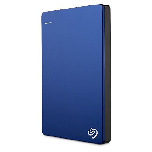 Seagate Backup Plus Slim Portable, External Mobile Hard Drive USB 3.0, 2,5 inch for PC & MAC & PS4 (Renewed), Capacity:1.000GB (1TB), Color Black by Seagate (Image #3)