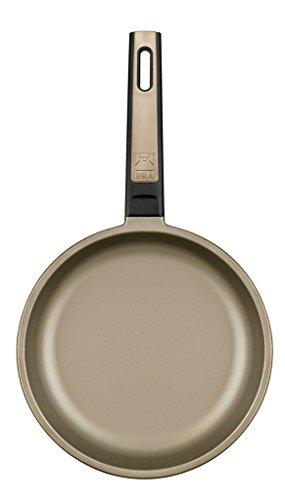 BRA Terra - Set de 3 sartenes, 20-24-28 cm, aluminio fundido, aptas para todo tipo de cocinas incluida inducción: Amazon.es: Hogar