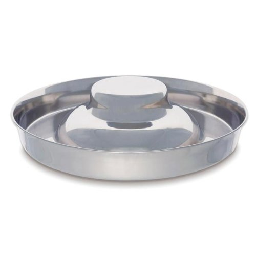 ProSelect 14.5-Inch Stainless Steel Puppy Dish - Litter Dish