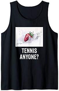 Tennis anyone , tennis grand slam fan t-shirt Tank Top T-shirt | Size S - 5XL