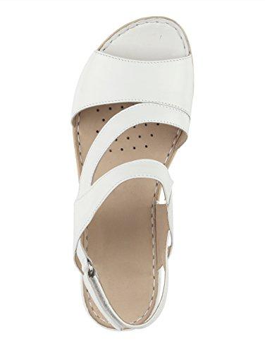 Sandalo Caprice Da Donna Bianco
