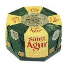 Saint Agur Cheese Wheel, 5 Pound -- 2 per case. by Anco Fine Foods