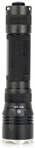 FOURSEVENS Maelstrom Regen MMR-X 800 Lumen Burst Mode; 1X 18650; Cool White LED Light, Black Finish