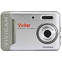 Vivicam 5050 VIV-5050-Silver - International Version (No Warranty)