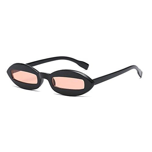White de Vintage Concave Gafas y Mujer WLHW Shapes Europa sol Pink Black Color Trend América Pink Pink pOqwOd8S