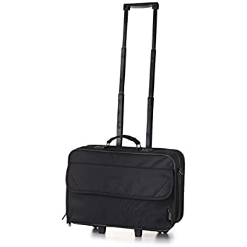 Amazon.com: 5 Cities Carry-on Laptop Black Business Bag ...