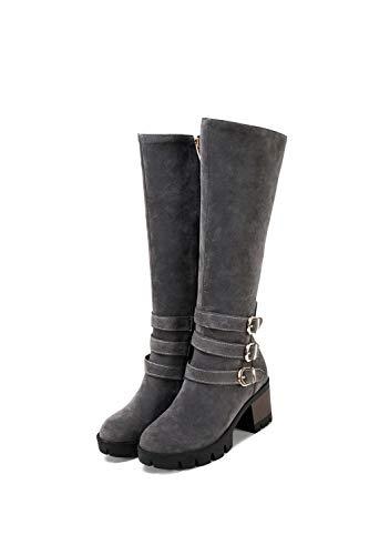 Sandalen Mns02980 1to9 grijs met sleehoef 6Pg5q