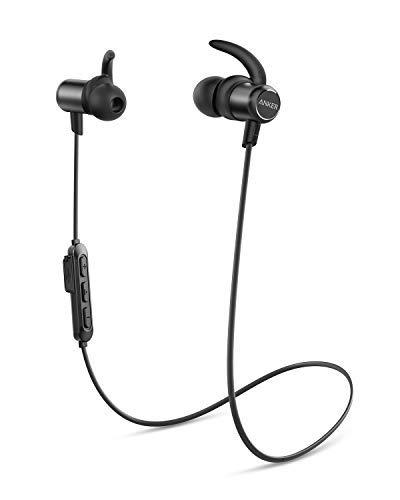 Anker Wireless Headphones, Upgraded SoundBuds Slim Workout Headphones Magnetic...