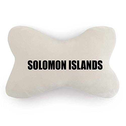 - DIYthinker Solomon Islands Country Name Car Neck Pillow Headrest Support Cushion Pad