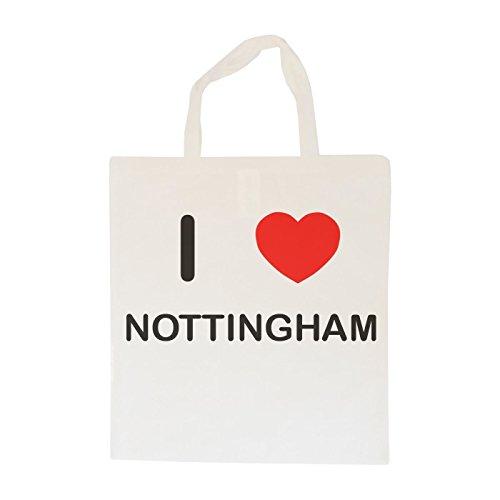 I Love Nottingham - Cotton Tote Bag