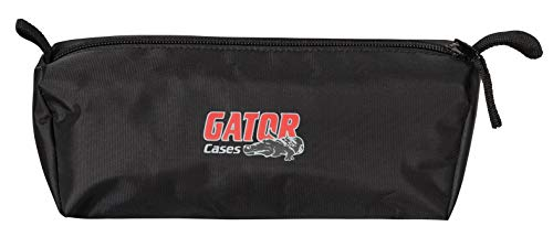 Gator GPA-STAND-2-B Stretchy Speaker Stand Cover-2 sides of most tripod style speaker stands, black