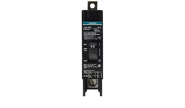 WARRANTY Siemens BQD140 1 Pole 40 Amp Circuit Breaker