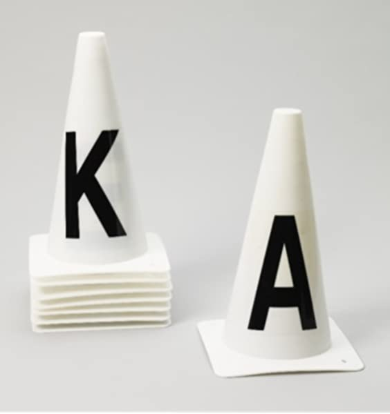 Horse Riding Dressage Arena Cone Markers  8 Piece Set /& Extended Set