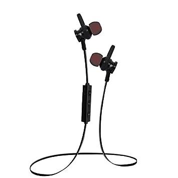 Hrph Inalámbrico auricular Bluetooth cuello de imán de cuelga sudadera estéreo deportivo auriculares para iPhone 7/7 más auriculares Huawei P9: Amazon.es: ...