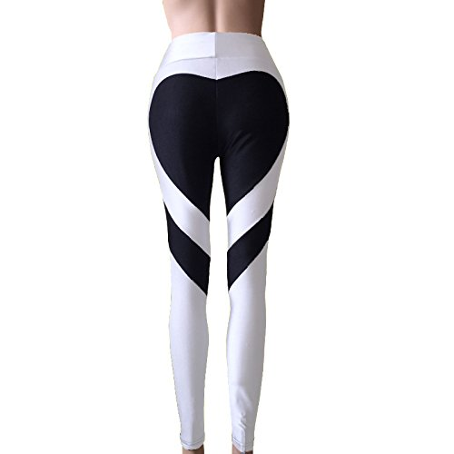 - H.coosy practical;cozy New Europe and the United States new ass love stitching underwear pants trousers hip high waist pants White black love XXXL