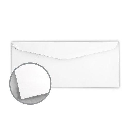 Printmaster White Envelopes - No. 10 Regular (4 1/8 x 9 1/2) 24 lb Writing Wove 2500 per Carton by National Envelope Printmaster