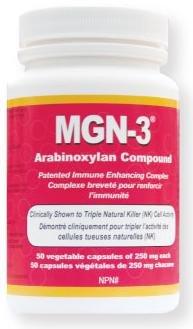 MGN-3 250mg -Regular Musculation BioBran Arabinoxylan composé AHCC (50 Vegetarian Capsules) par Lane Labs (MGN3 MGN 3) Marque: Daiwa développement de la santé