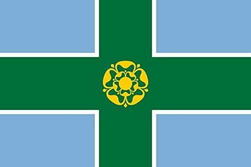 magFlags XXS Flag Derbyshire 2.5sqft Factory outlet 0.24m² Landscape Popular product