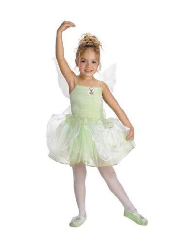 [Tinker Bell Ballerina Costume (3T-4T)] (Child Tinkerbell Ballerina)