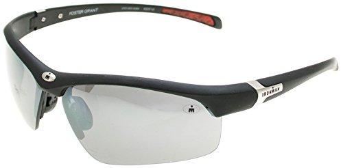 IronMan Mens Principle Wrap Sunglasses One Size - Sunglasses 1 Man Iron