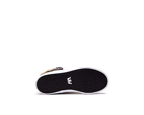 Supra Kids Boy's Skytop (Little Kid/Big Kid) Gold/Black/White Athletic Shoe by Supra Kids (Image #2)