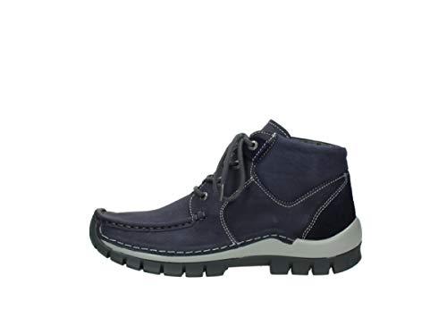 Piel 11602 4735 Cross Lila 002 Cordones Nubuckleders Wolky De Zapatos Seamy Para 11 Mujer Pwq14x18