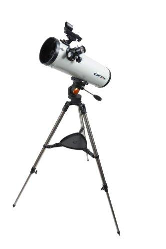 Celestron 21079 Cometron 114AZ Telescope (White) by Celestron