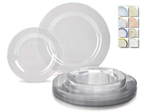 Clear Plastic Tableware (