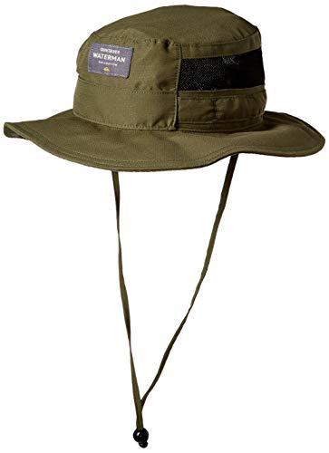 Quiksilver Waterman Men's Hook Up Bucket Hat, Ivy Green, L/XL