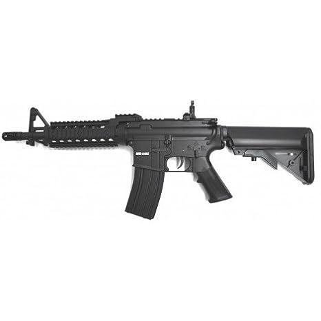 Cyma Pistola de airsoft, táctica, M4 RIS, CQB, ABS, AEG ...