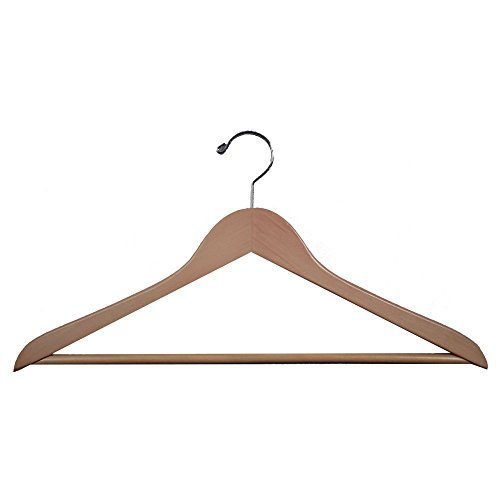 Proman Genesis Flat Suit Hanger with Bar - 50 Pieces by Proman (Genesis Flat Suit Hanger)