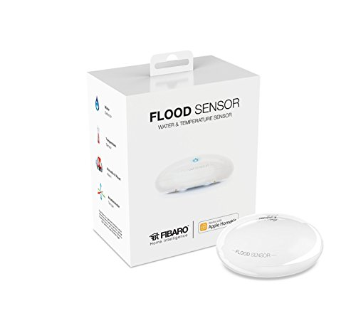 FIBARO HomeKit  Flood Sensor, Water & Temperature Sensor for HomeKit only