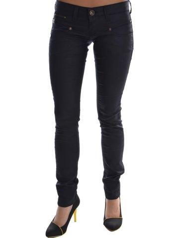 Harriton Men's 6.5 oz. Long-Sleeve Denim Shirt - DARK DENIM - XL ()