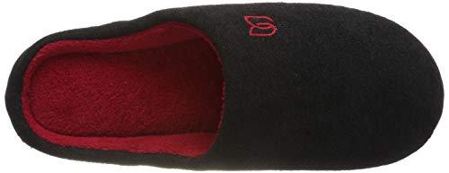 Memory rosso Morbido Donna Antiscivolo Pantofole Scarpe Ciabatte Peluche Inverno Uomo Nero Unisex Foam In w0OUOqRvx1