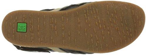 Mixed El Sandal Nf47 Black Zumaia Women's Naturalista Flat 0Aqw70a8
