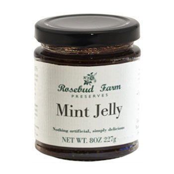 Mint Jelly - 8 oz/227 gr by Rosebud Farm, (Rosebud Farms)