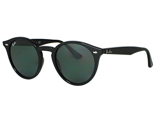 Ray Ban RB2180 Round 601/71 Black Sunglasses - Round Rb2180