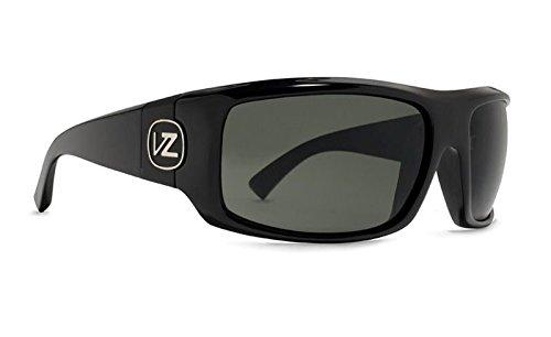 VonZipper Clutch Sunglasses Gloss Black With Grey Lens by VonZipper