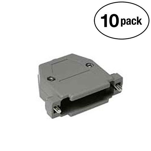 (InstallerParts (10 Pack DB25 Plastic Hoods Screw Type)