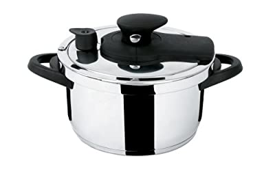 Fresco Rapido 6 Liter Stainless Steel Pressure Cooker by Fresco