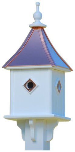 The Birdhouse Chick - Copper Birdhouse-PVC 28x10