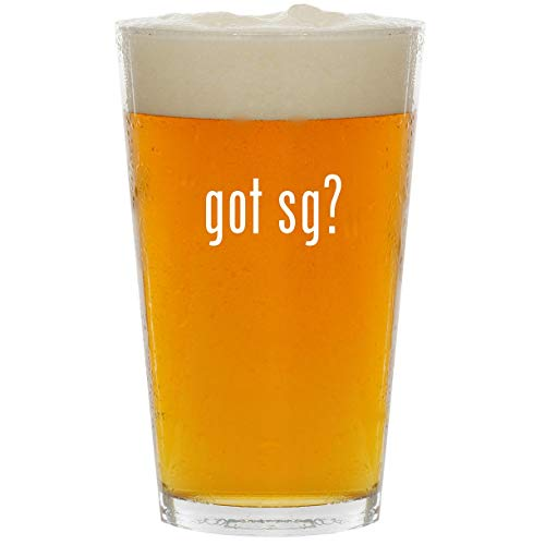 Custom Sg Pickguards - got Sg? - Glass 16oz Beer Pint