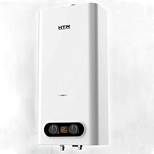HTW - Calentador de Gas Butano Atmosferico Automatico 11 Litros Obi - Camara Abierta - Tiro Natural
