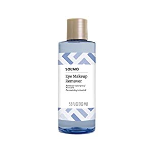 Best Epic Trends 31Eb0CxcjYL._SS300_ Amazon Brand - Solimo Eye Makeup Remover, Removes Waterproof Mascara, Dermatologist Tested, 5.5 Fluid Ounce