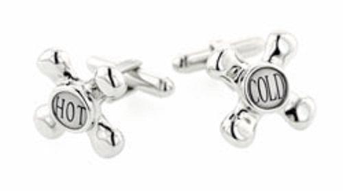 Faucet Cufflinks - JJ Weston Faucet Cufflinks. Made in the USA.