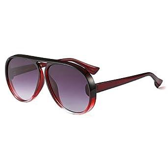 db35945120c Shopystore C5-Wine-Red-Frame  Wowsun Unique Aviator Sunglasses Women 2018  Newest Fashion Gradient F  Amazon.in  Clothing   Accessories